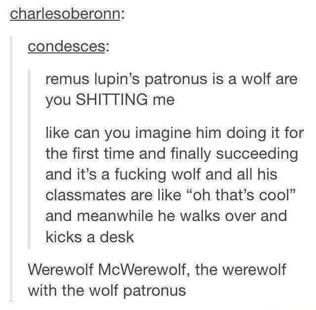 Patronus' are the animal you are most like soooooo
