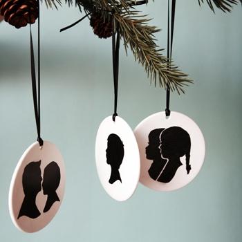 ornament silhouettes