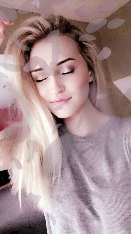 """""""hi!"""" i smile big. """"i'm samantha, but i prefer sam. i'm 16 years old and i'm addicted to buying makeup."""" i laugh. """"i love fashion and going to concerts. i'm also very outgoing and talkative. come say hi!"""" [fc: sam eklund]"""