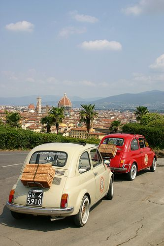 fiat 500 ,florence