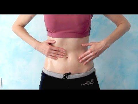 Crema casera para automasaje reductivo en el vientre | Salud