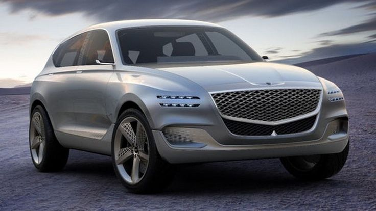 """that it is an """"urban-active fastback SUV coupe GT"""" #GV80SUV"""