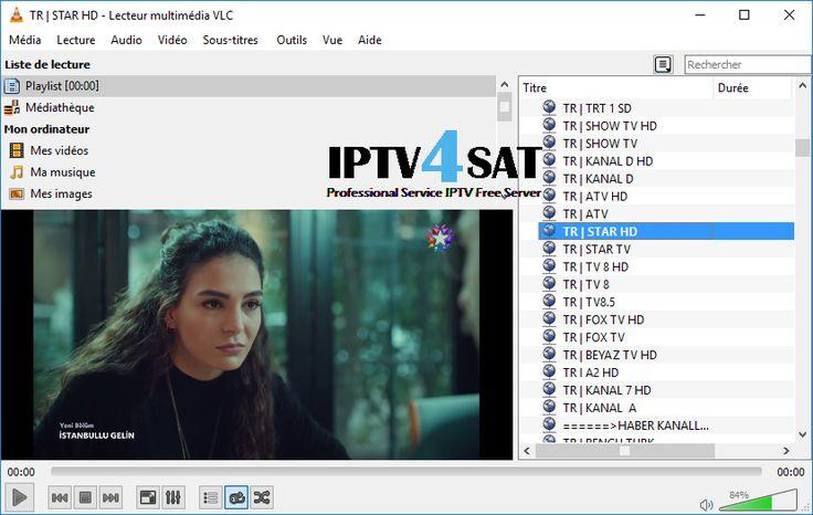 IPTV Gratuit Turk Playlist M3u Canaux 02/12/2017