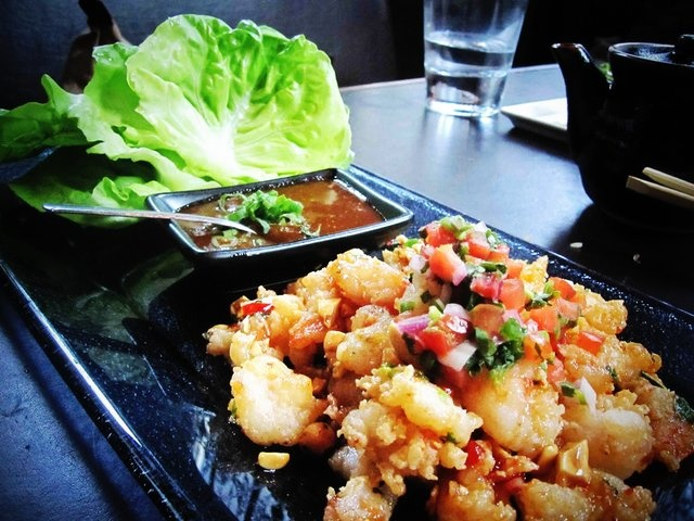 @Zengo in DC : Thai shrimp lettuce wraps