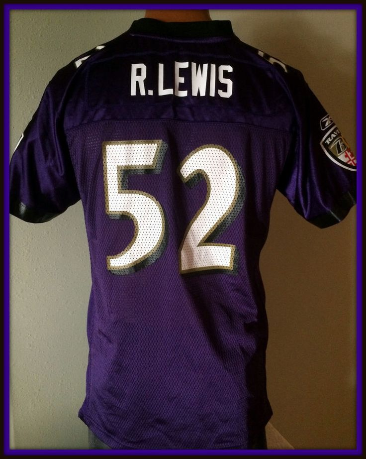 d827fe32aa7 ... Baltimore ravens ray lewis youth xlarge reebok on field replica jersey  free ship Ray Lewis Heart of Baltimore shirt Football NFL ...