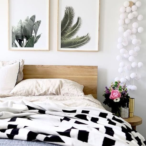 Easy Like Sunday Mornings.. Brought To You By @thedreamlife_design  #lemonadelusts · Bed HeadsSunday MorningWall IdeasGuest BedroomsArtwork ...
