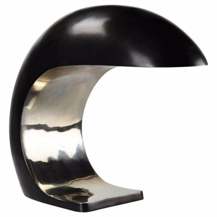 Nautilus Study Table Lamp in White Bronze by Christopher Kreiling €5.525