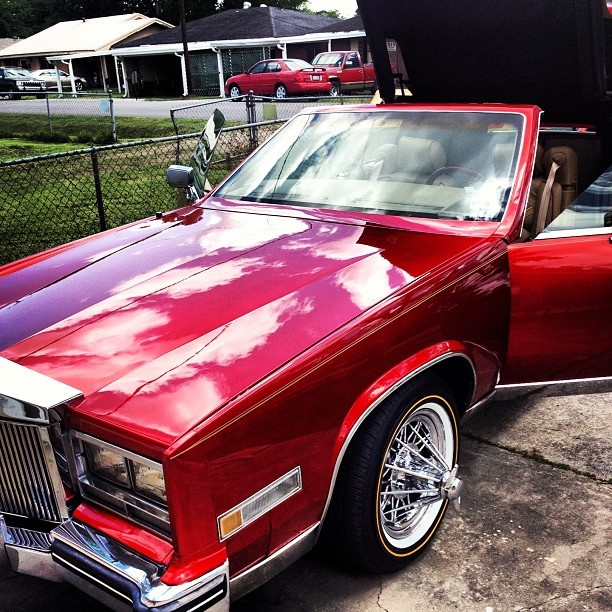 1976 Cadillac Eldorado On Swangas Super