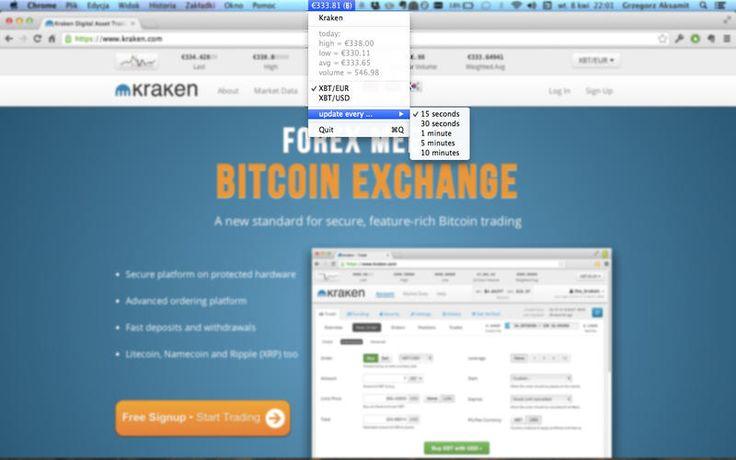 Mac App Kraken Bitcoin Ticker | Finance | Utilities | **** | 4  | $0.99 NOW FREE | Kraken BItcoin Ticker displays current BTC exchange rate on your Mac top status bar.That