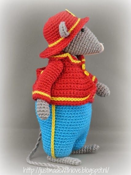 Just made with love by Antoinette: Ferdy Fire Mouse