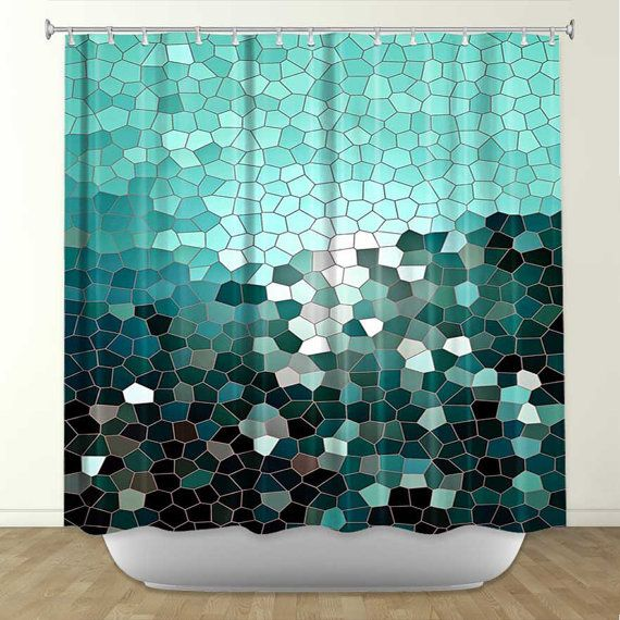 Shower Curtain Artistic Designer From Dianoche Designs By Arist Iris Lehnhardt Home D Cor And Bathroom Ideas Patternization Iii On Wanelo