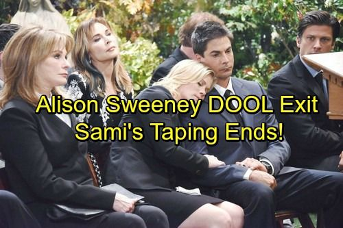 Days of Our Lives Spoilers: Alison Sweeney Confirms DOOL Exit - Goodbye Sami | Celeb Dirty Laundry