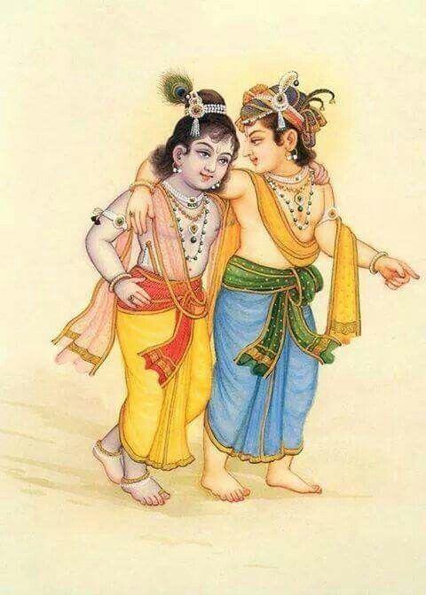 .Krishna & Balarama by BG Sharma.
