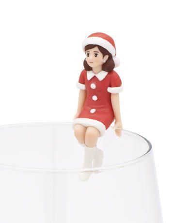 預告聖誕來臨!杯緣子變身聖誕女郎!