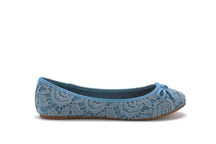 Scarpe Donna GOLD AND GOLD Ballerine donna in pizzo Blu