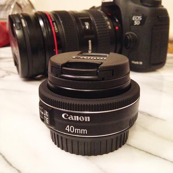 Canon 40mm STM Pancake Lens and Eye-Fi SD Card Review - Table for Two