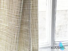 Jaune moutarde jaune rideaux - rideaux - tringle poche doublé de rideaux - Designer scandinave rideaux rideaux - crayon pli-Custom Made