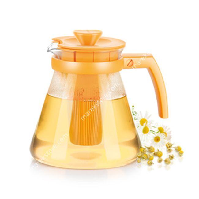 Szklany zaparzacz do herbaty i ziół z wyjmowanym sitkiem - pojemność 1,25 litra | Tescoma | 39,00 zł