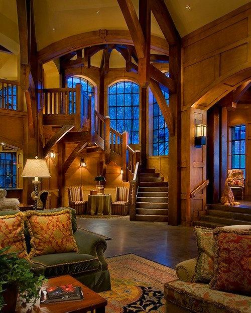 living room living room #living #room #love #wood #big #home #decor #house