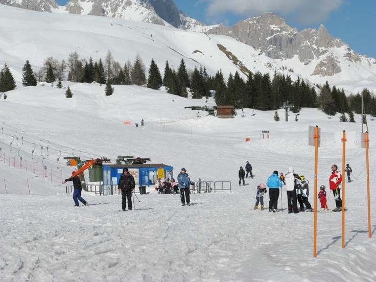 Sciare sul Passo san Pellegrino