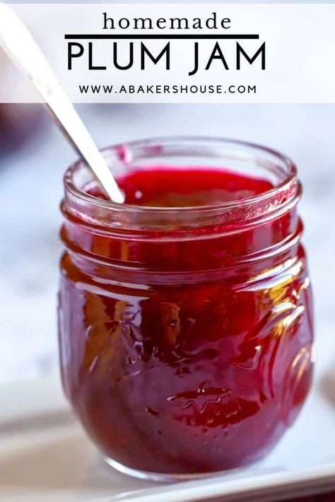 Homemade plum jam is easy to make! Learn how to make plum jam. Savor the flavors…