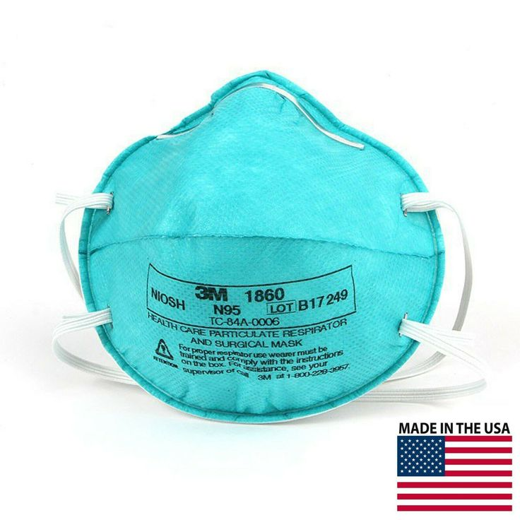 3m 1860 n95 medical mask made in usa in 2020 medical