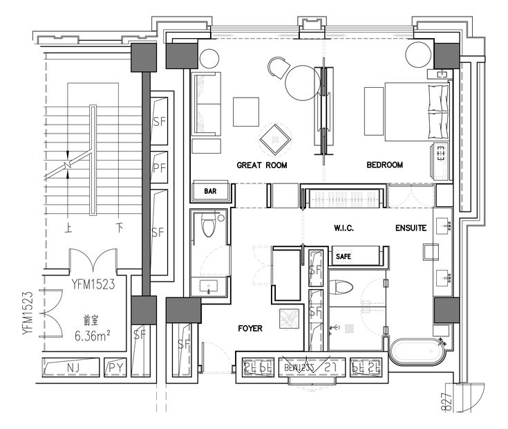 Apartment Floor Plans, Architecture Plan, Hotel Suites, Plane, House Plans,  Architecture, Interior Part 71