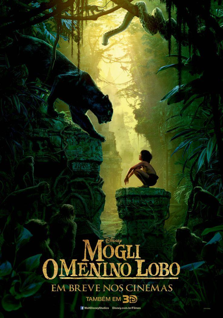 Mogli – O Menino Lobo - 01.04.2017  Lindo! Adorei!
