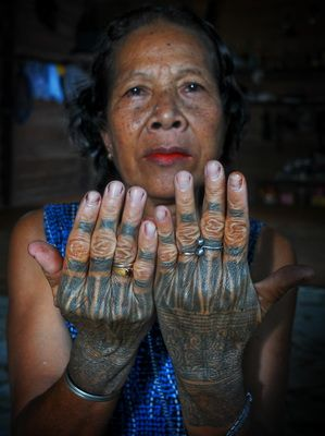 www.villabuddha.com  Bali  Meaning of Tattoos For Dayak tribe in Kalimantan