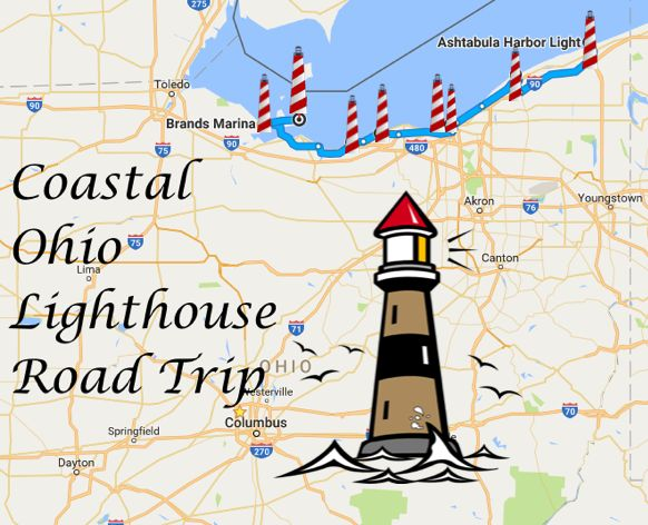 Travel | Ohio | Lighthouse | Coast | Road Trip | Bucket List