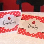 ladybug party printables(you'll find in the older posts) check out the other printables on the site, really good!!!
