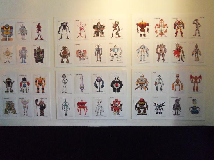 #Eventos #Arte #Dibujos #Robots #Dibujados #Historietas #Cómics #CarlosBenitez #Pecariestudio #Fotografía
