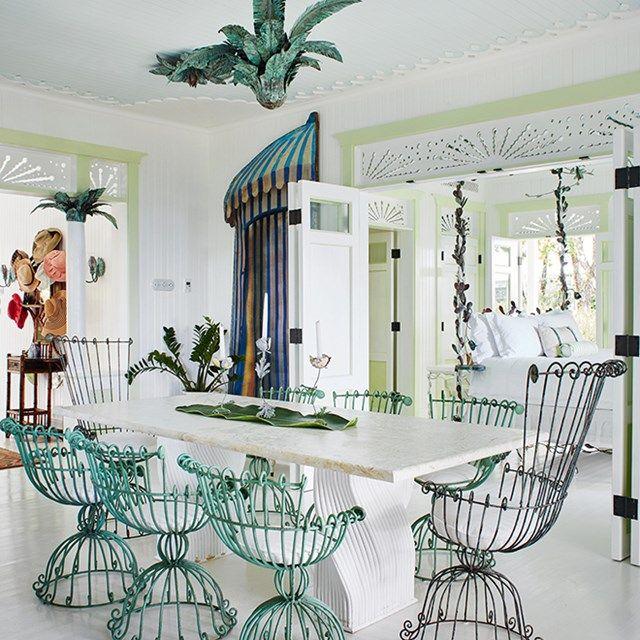 36 melhores imagens de decoracion de comedores no for Sillas barrocas modernas