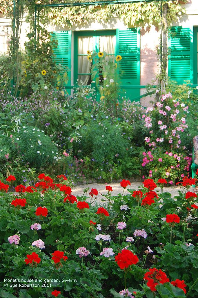 Monet's house and garden Giverny - detail