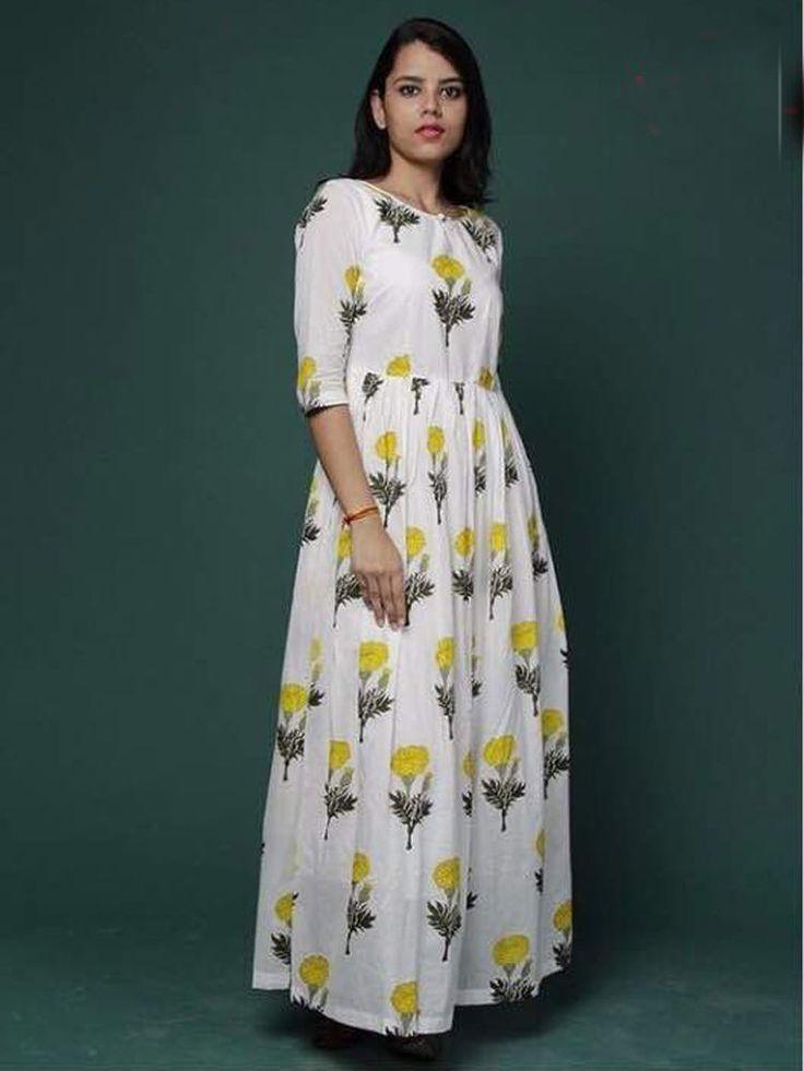 Indian designer stylish cotton kurties bollywood ethnic dresses fancy look | eBay