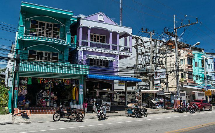 Shops in Patong Beach Phuket