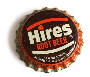 Hires Root Beer Bottlecap.  Hands down the best root beer ever!!