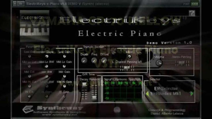 34 best virtual electric piano vst plugin fender rhodes hohner clavinet d6 wurlitzer yamaha. Black Bedroom Furniture Sets. Home Design Ideas