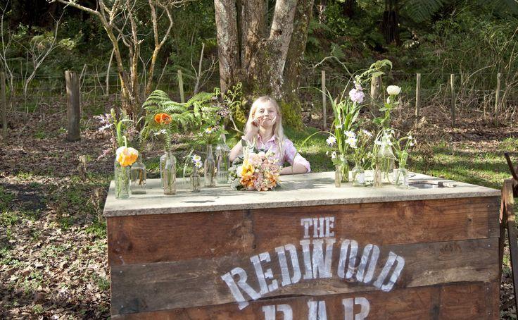 Funtastic Miss Rose at the Redwood Bar !