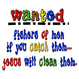Wanted Fishers of Men                                                       …