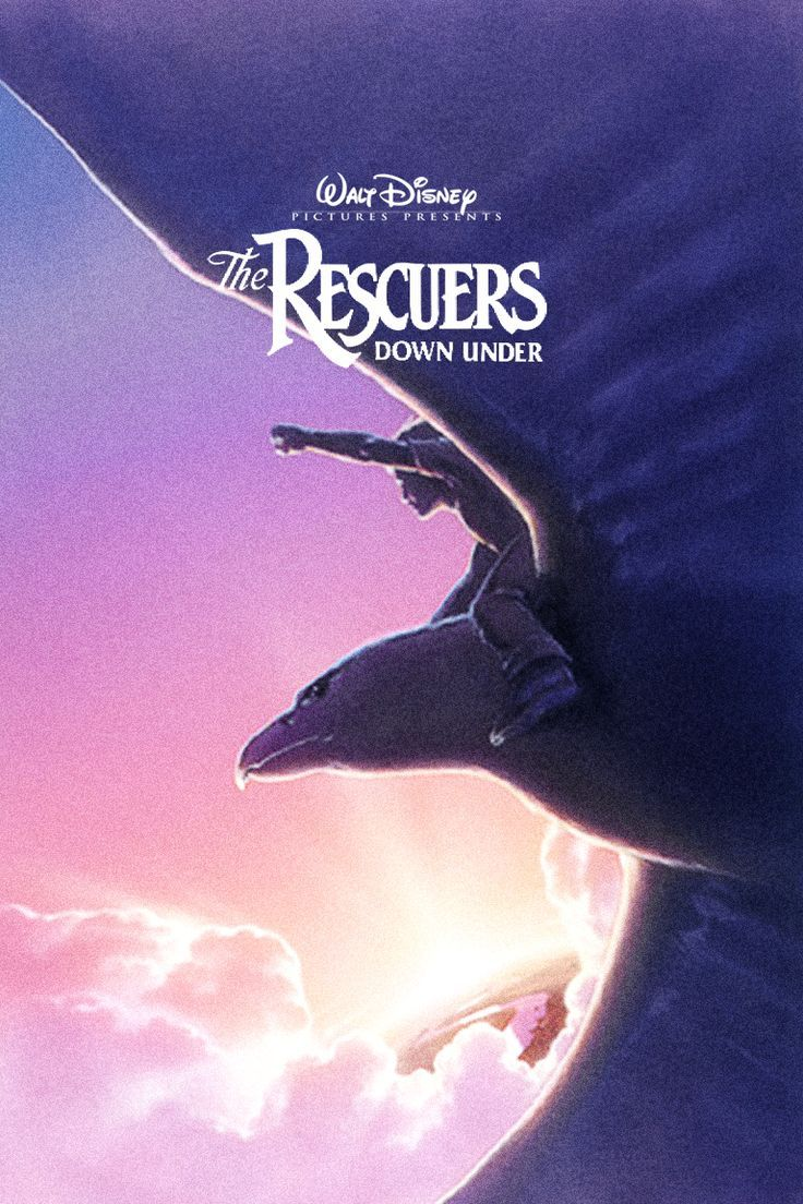 """MOVIE The Rescuers Down Under """"1990"""" (Genre Adventure"""