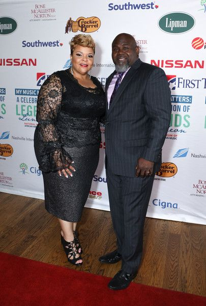 Tamela Mann Photos Photos - David Mann (L) and Tamela Mann speak onstage at the 2017 ESSENCE Festival Presented By Coca Cola at the Mercedes-Benz Superdome on July 1, 2017 in New Orleans, Louisiana. 2017 ESSENCE Festival Presented by Coca Cola Louisiana Superdome - Day 2