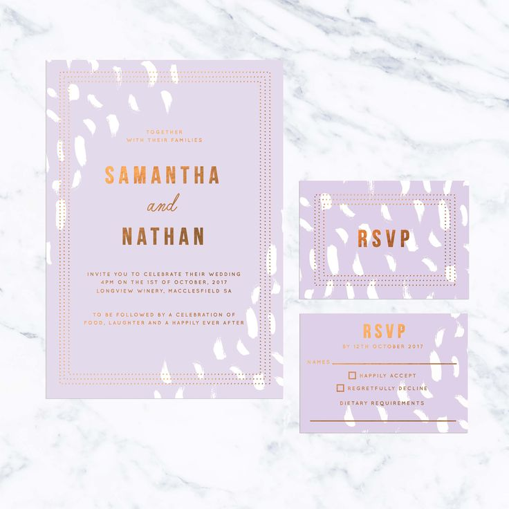 217 best Pastel Wedding Invitations images on Pinterest | Pastel ...