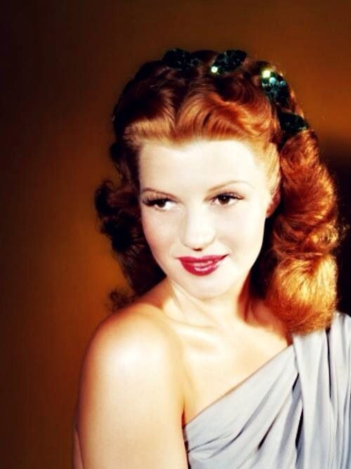Rita Hayworth - everyone loves Marilyn (as do I) but I'm totally fascinated by this lovely and talented lady who isn't often remembered by younger generations.