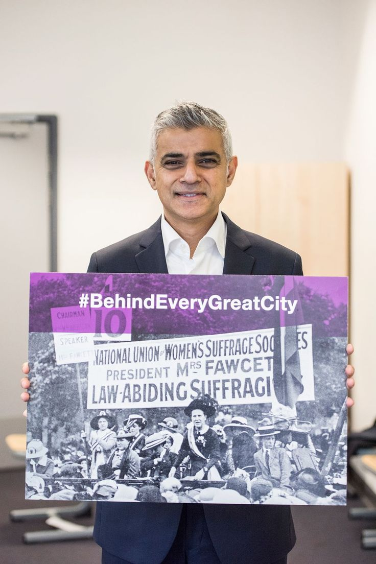 Sadiq Khan On His Plans To Drive Gender Equality Forward In 2018
