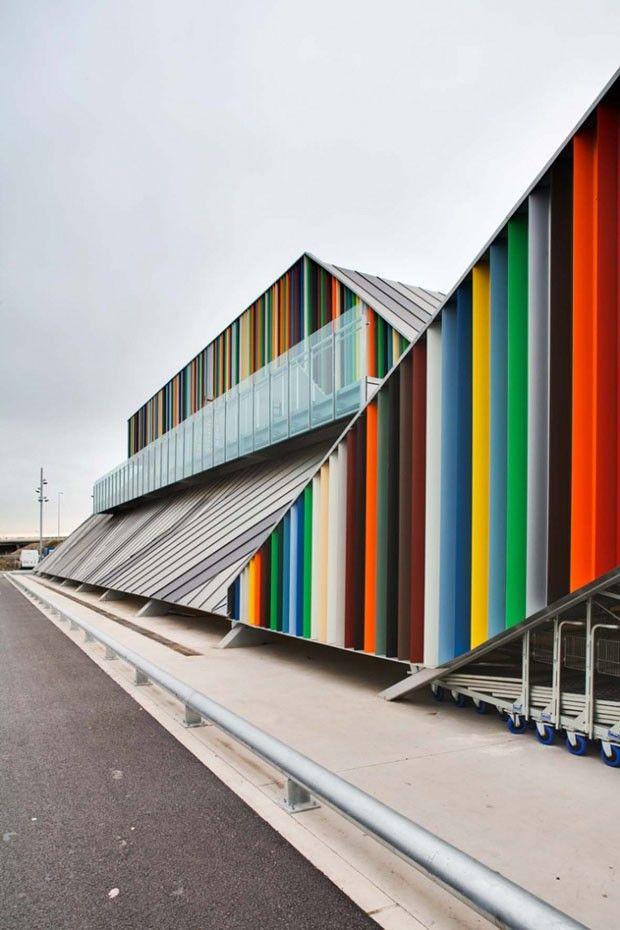 Os 10 prédios mais coloridos do mundo