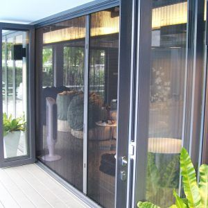 Magnetic Insect Screen For Patio Doors