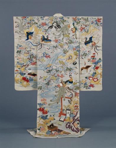 Furisode, Edo Period, 19th c, Kyoto National Museum