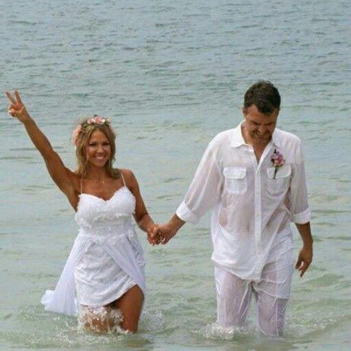 Our Bohemian Beach Wedding 10 Year Vow Renewal In Jamaica Bohobride Beachwedding Bohemian