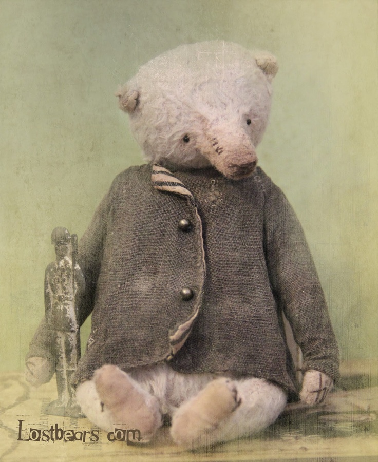 Lost Bears- What a handsome jacket!